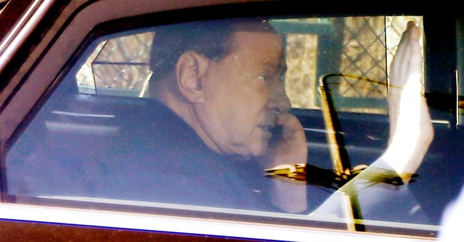 Berlusconi ends community service sentence for tax fraud